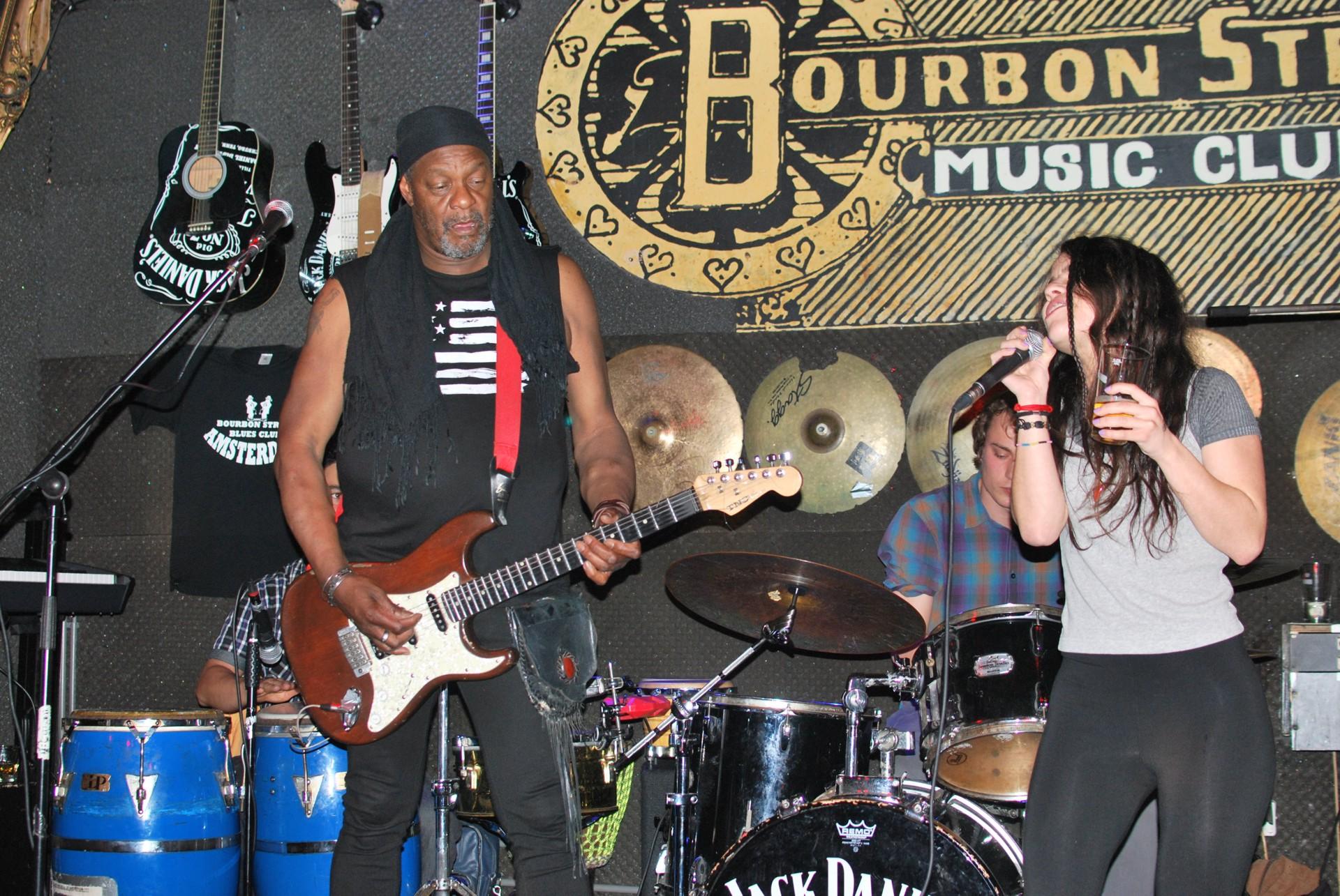 Jamming in Bourbon Street