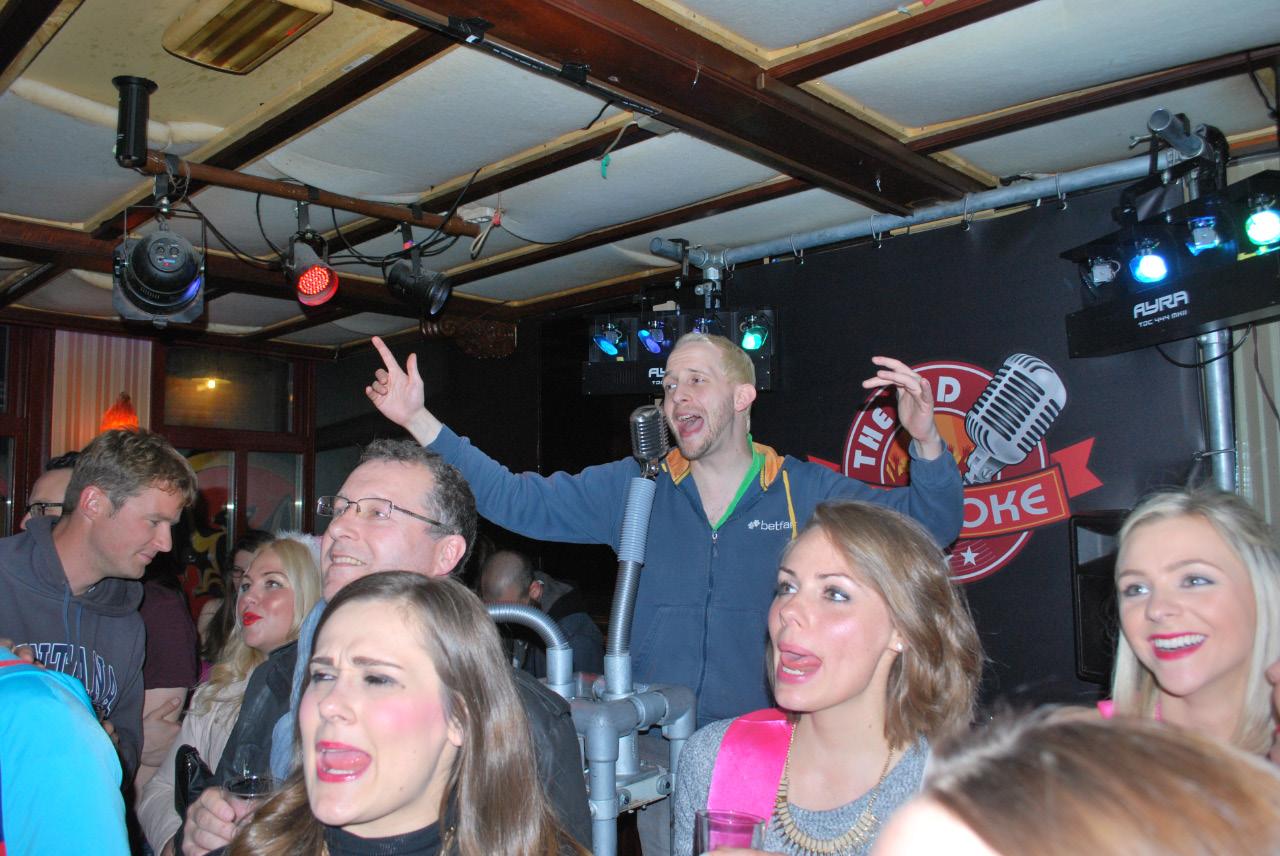 Karaoke in The End